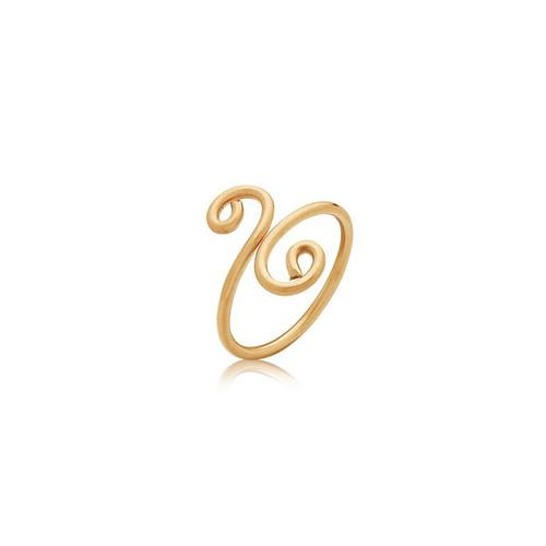 Friendship Ring - 14K Gold Artist Wire