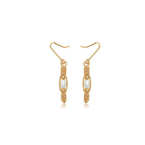 Bella Earrings - 14K Gold Artist Wire