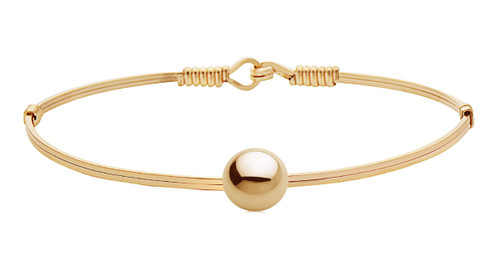 You Are Chosen Bracelet - 14K Gold Artist Wire