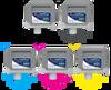 Set of 5 Ink Tanks 307 for Canon printers, color Photo Black (CC-PFI307-S)