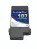 FastPlot Compatible Ink Cartridge Replacement for Canon 107 color  Matte Black