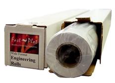 47 lb. Premium Coated Bond Plotter Paper 24 x 100 2 Core - 1 Roll