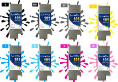 FastPlot Compatible Ink Cartridge Replacement for  Canon 101 - Set of 8