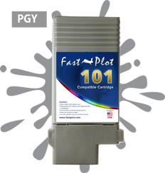 FastPlot Compatible Ink Cartridge Replacement for Canon 101 -  Photo Gray