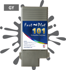 FastPlot Compatible Ink Cartridge Replacement for Canon 101 - Gray
