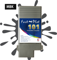 FastPlot Compatible Ink Cartridge Replacement for Canon 101 - Matte Black