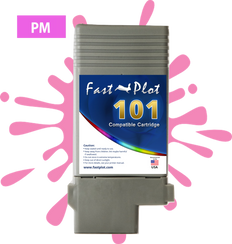 FastPlot Compatible Ink Cartridge Replacement for Canon 101 -   Photo Magenta