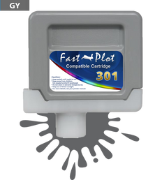 FastPlot Compatible Ink Cartridge Replacement for Canon 301 -  Gray