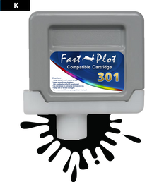 FastPlot Compatible Ink Cartridge Replacement for Canon 301 - Black