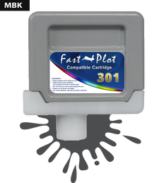 FastPlot Compatible Ink Cartridge Replacement for Canon 301 - Matte Black