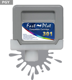 FastPlot Compatible Ink Cartridge Replacement for Canon 301 - Photo Gray