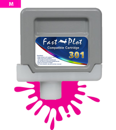 FastPlot Compatible Ink Cartridge Replacement for Canon 301 - Magenta