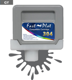 FastPlot Compatible Ink Cartridge Replacement for Canon 304 - Gray