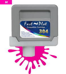FastPlot Compatible Ink Cartridge Replacement for Canon 304 - Magenta
