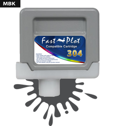 FastPlot Compatible Ink Cartridge Replacement for Canon 304 - Matte Black