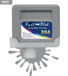 FastPlot Compatible Ink Cartridge Replacement for Canon 304 - Photo Gray