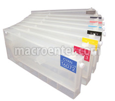 FastPlot Refillable Ink Cartridge Replacement for Epson 4880 (T6061-9) Set of 8