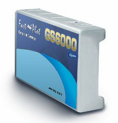 FastPlot Compatible Ink Cartridge Replacement for Epson GS6000 - Cyan 950ml