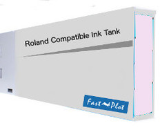 FastPlot Compatible Ink Cartridge Replacement for Roland Solvent Printers - Light Magenta 220ml