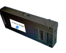 FastPlot Compatible Ink Cartridge Replacement for Seiko - Cyan 64S & 100S 1L