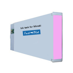 FastPlot Compatible Ink Cartridge Replacement for Mimaki JV3 (SS2) - Light Magenta 440ml