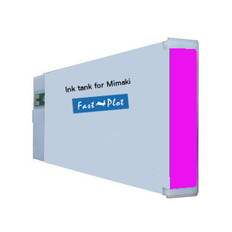 FastPlot Compatible Ink Cartridge Replacement for Mimaki JV3 (SS2) - Magenta 440ml