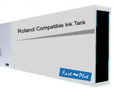 FastPlot Compatible Ink Cartridge Replacement for Roland Solvent Printers - Black 440ml