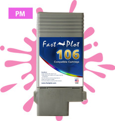 FastPlot Compatible Ink Cartridge Replacement for Canon 106 color  Photo Magenta