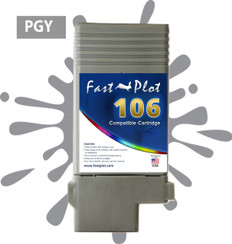 FastPlot Compatible Ink Cartridge Replacement for Canon 106 color  Photo Gray