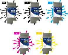 FastPlot Compatible Ink Cartridge Replacement for Canon 680, 685, 780 , 785 Set of 5