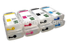 FastPlot Compatible Ink Cartridge Replacement for HP 70 Set of 8