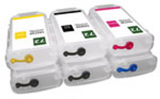 FastPlot Refillable Ink Cartridge Replacement for HP 72