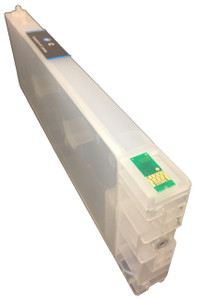 Refillable ink tank for Epson 4900 Cyan (IA-4900)