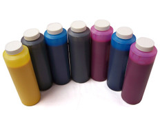 Set of 7 bottles 454ml of Ink for use in Epson 7600, 9600,, Matte Black made in the USA