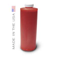 Bottle 1000ml of Ink for use in Canon 701 Red in the USA