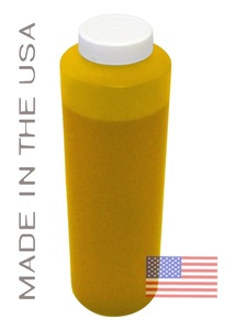 Bottle 454ml of Pigment Ink for use in Epson 10000 Yellow made in the USA