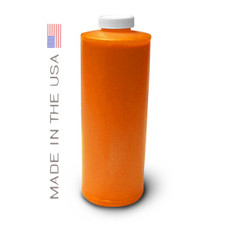 Bottle 1000ml of Pigment Ink for use in Epson 7900, 9900 Orange made in the USA