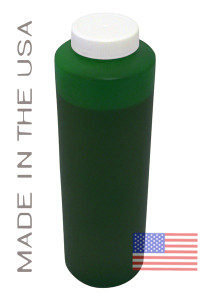 Bottle 454ml of Pigment Ink for use in Epson 7900, 9900 Green made in the USA