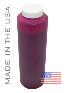 Bottle 454ml of Pigment Ink for use in HP DesignJet 5000 Magenta made in the USA