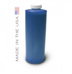 Bottle 1000ml of Pigment Ink for use in HP DesignJet 5000 Cyan made in the USA
