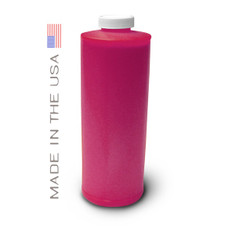 Bottle 1000ml of Dye Ink for use in HP DesignJet 4000, 4500 Magenta made in the USA