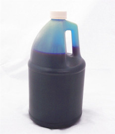 Gallon 3785ml of Dye Ink for use in HP DesignJet T1100, T610 Cyan made in the USA