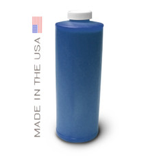 Bottle 1000ml of Dye Ink for use in HP DesignJet T1100, T610 Cyan made in the USA