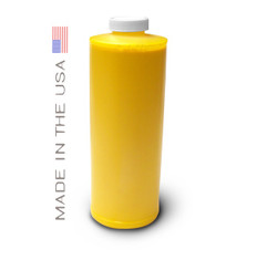 Bottle 1000ml of Dye Ink for use in HP DesignJet T1100, T610 Yellow made in the USA