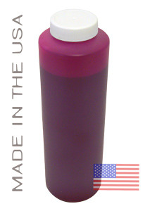 Bottle 454ml of Pigment Ink for use in HP DesignJet Z2100 Magenta made in the USA