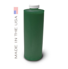 Bottle 1000ml of Pigment Ink for use in HP DesignJet Z3100, Z3200 Green made in the USA