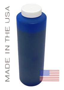Bottle 454ml of Pigment Ink for use in HP DesignJet Z3100, Z3200 Blue made in the USA