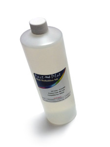 Bottle 1000ml of Cleaning Solution for use in Piezo Printheads made in the USA