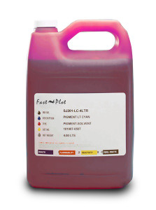Gallon 3785ml of Eco Solvent Ink for use in Mimaki ES3 Magenta made in the USA