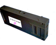 FastPlot Compatible Ink Cartridge 500ml replacement for HP 8000 (Light Magenta 1 Pack)